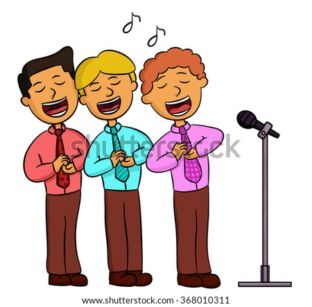 Group Singing Trio Stock Images, Royalty-Free Images ...