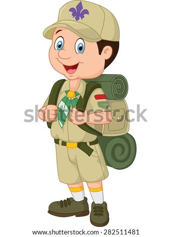 Scout dress image clipart