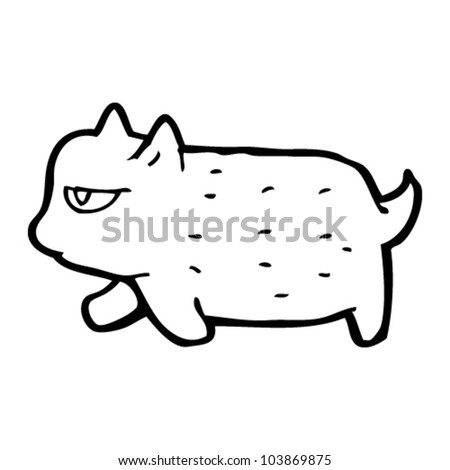 cartoon little cat