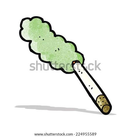 Cartoon Marijuana Joint