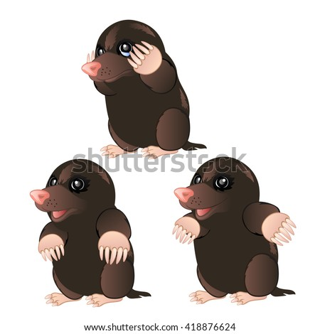 Cute mole day cartoon - photo#41