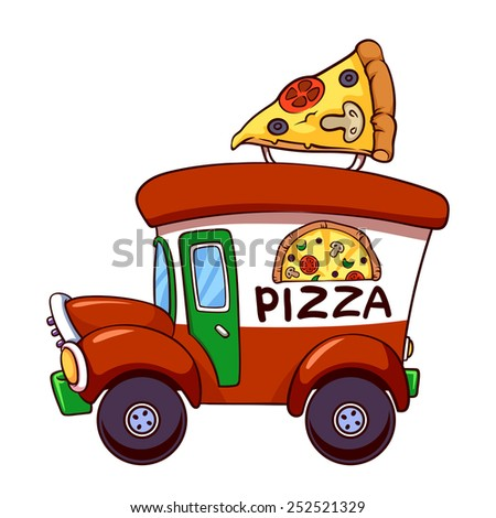 Pizza truck stock photos images amp pictures shutterstock
