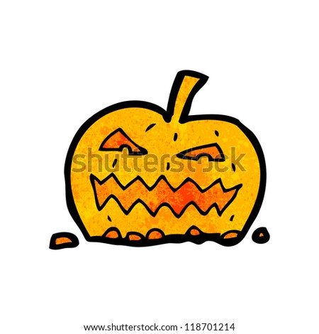 cartoon pumpkin