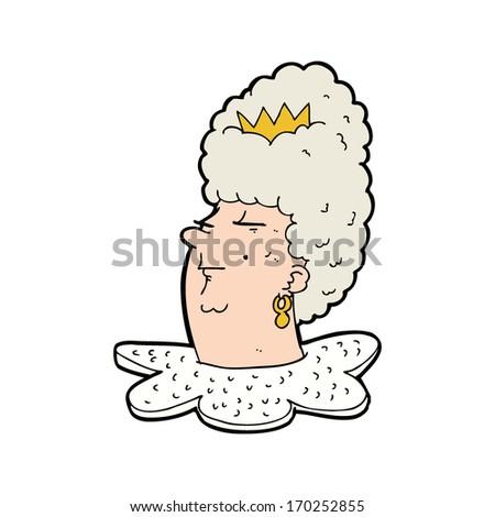 cartoon queen s head set of ballerina accessories queen the