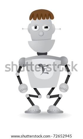 cartoon robot illustration