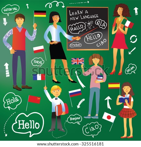 Why moving to a country may not lead to learning the language & what learners & expats CAN do