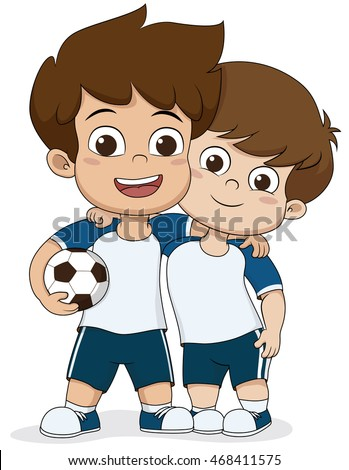Two Friends Isolated Stock Vectors, Images & Vector Art ...