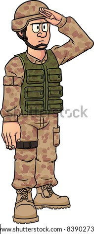 Cartoon Soldiers Stock Images Royalty Free Images