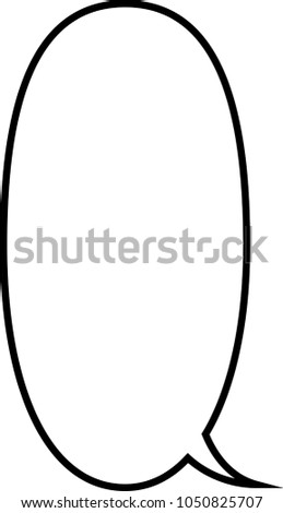 Cartoon Speech Balloon 18