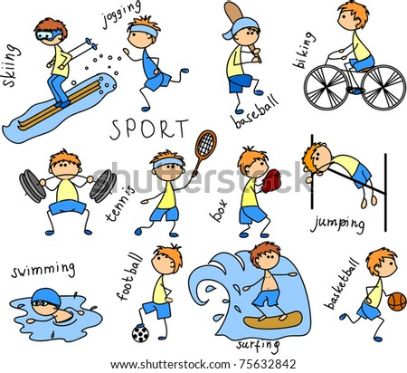 Sports Cartoon Stock Images Royalty Free Images Amp Vectors