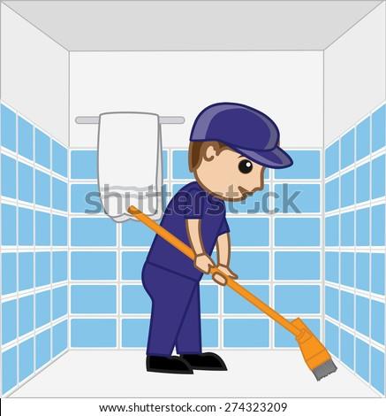 Sweeper Stock Vectors Vector Clip Art Shutterstock
