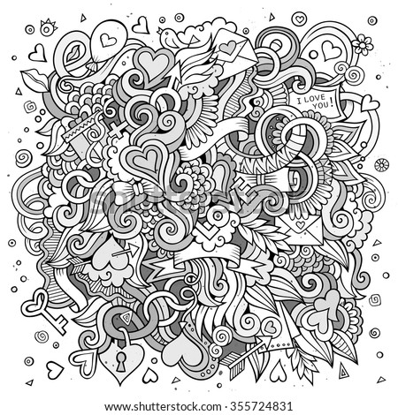 Doodle Background Stock Images, Royalty-Free Images ...