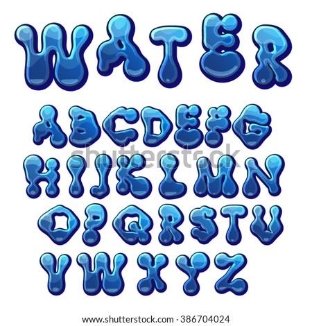 water drop template writing a judge