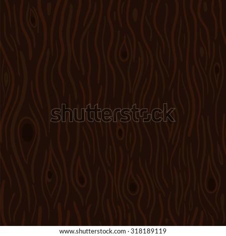 Cartoon wood seamless texture - stock vector