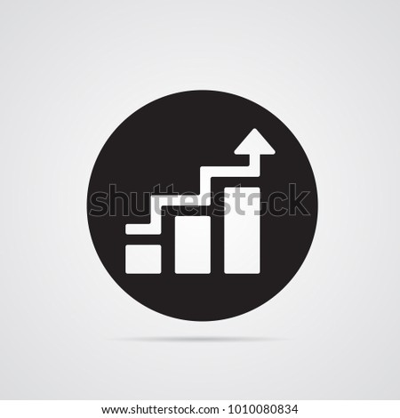 Carved Silhouette Flat Icon Simple Vector Stock Vector Hd Royalty