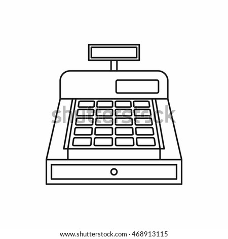 Cash Register Vector Stock Images, Royalty-Free Images ...