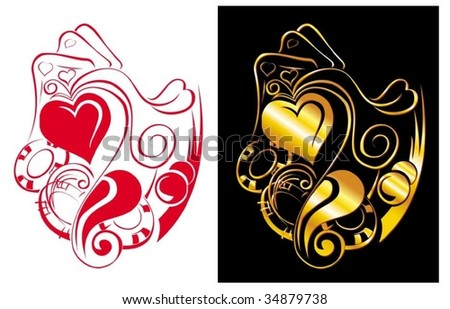 Casino_06 - stock vector