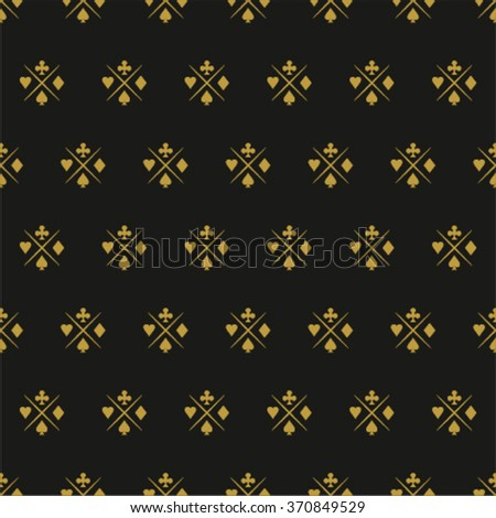 CASINO BACKGROUND. - stock vector