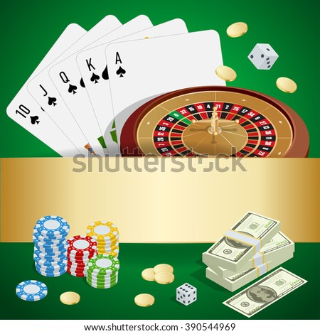 Casino concept, Casino icon, Casino concept, Casino vector, Casino background, Casino cards, Casino chips, Casino craps, Casino roulette, Casino isometric, Casino illustration, Casino poker game - stock vector