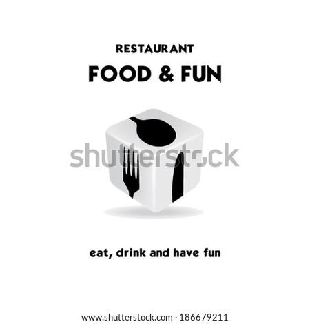 Casino restaurant - stock vector