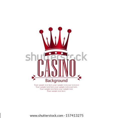 Casino vector background  - stock vector