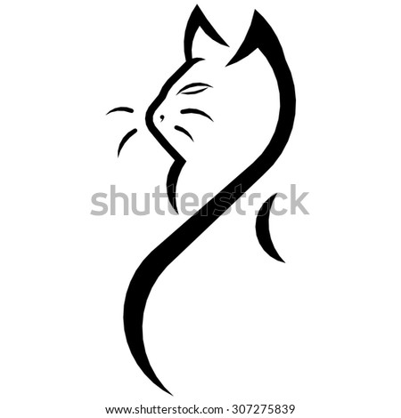 Cat, Kitty, Image of cat, Graphical representation of the cat