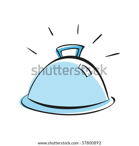 Catering Platter - stock vector