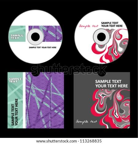 Cd Cover Design Stock Vector 171473513 - Shutterstock