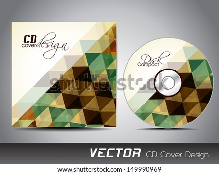 CD Cover design for your business.  - stock vector