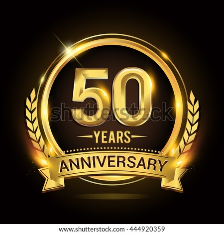 50 years wedding anniversary symbol