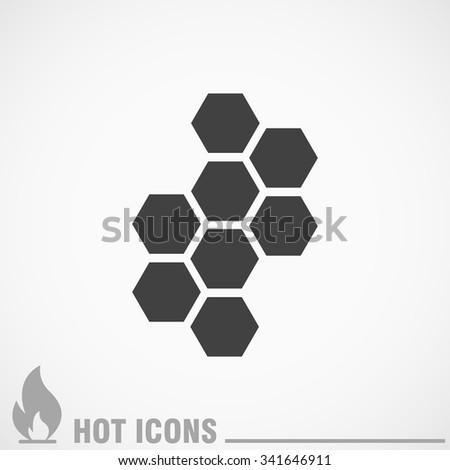 cell icon - stock vector