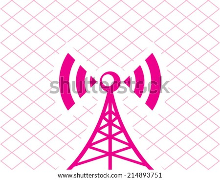 Cellular Tower - stock vector