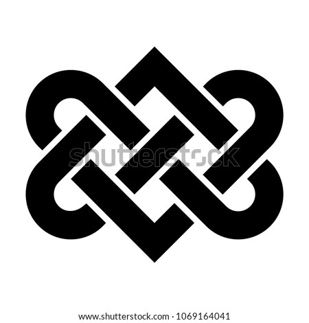 Celtic Love Knot Vector Stock Photo Photo Vector Illustration