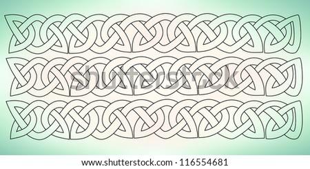 celtic ornament - stock vector