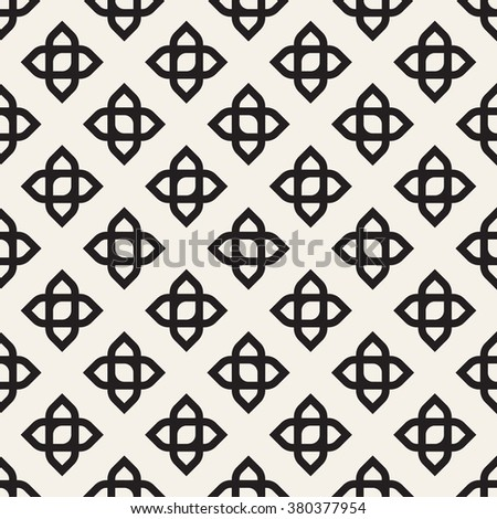 Abstract Graphic Wallpaper Vector Illustration With Geometric Ornament