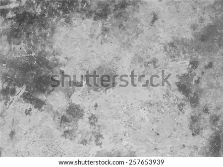 Cement texture background (Vector EPS10) - stock vector