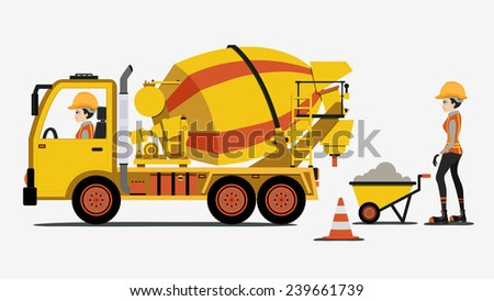Cement Truck Stock Images, Royalty-Free Images & Vectors ...