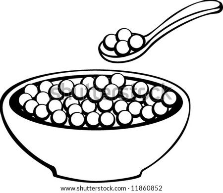 cereal bowl stock photo photo vector illustration 11860852 rh shutterstock com cereal bowl clipart
