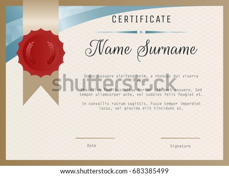 blank training certificates