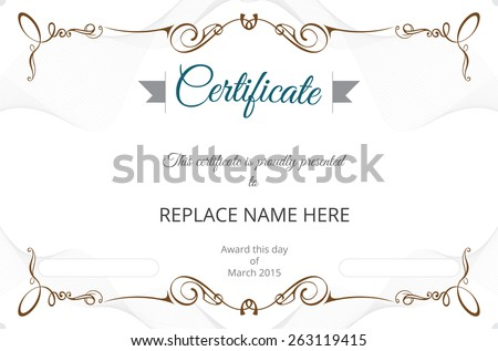 Certificate Border Stock Images, Royalty-Free Images & Vectors ...