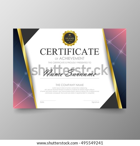 Certificate Design Vectors Photos and PSD files  Free