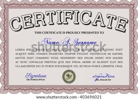 Certificate template, certificate EPS10, certificate JPG, certificate of achievement, certificate diploma, certificate vector, certificate illustration, certificate design, certificate completion - stock vector