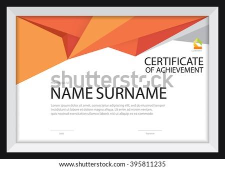 A4 Size Certificate Templates Mandegarfo