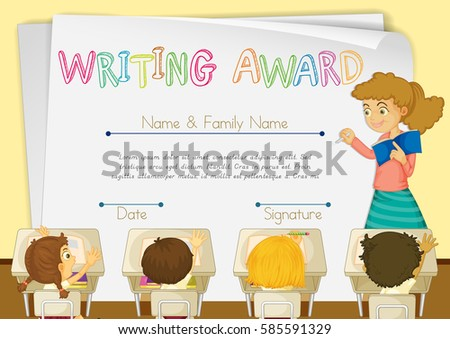 african writing awards for kids