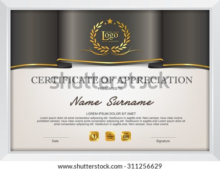 Modern certificate template stock images royalty free images certificate template with modern patterndiplomavector illustration yelopaper Choice Image