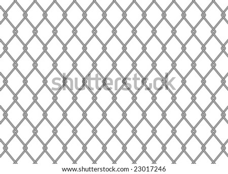 chainlink fence vector reflection stock vector 44740783 - shutterstock