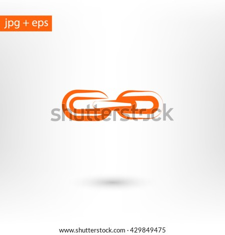 Chain link icon, Chain link icon eps, Chain link icon vector, Chain link icon art, Chain link icon jpg, Chain link icon app, Chain link icon picture, Chain link icon web, Chain link icon, Chain link - stock vector