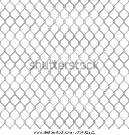 chain link fence texture seamless. Chainlink Fence Pattern. Vector Seamless Background. Chain Link Structure Texture Wallpaper. N