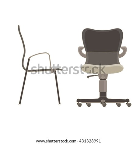 A chair stock photos royalty free images vectors for Chair design exercise