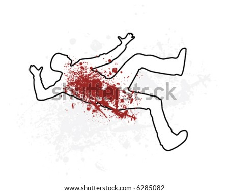 Dead body outline stock images royalty free images vectors chalk outline man pronofoot35fo Gallery